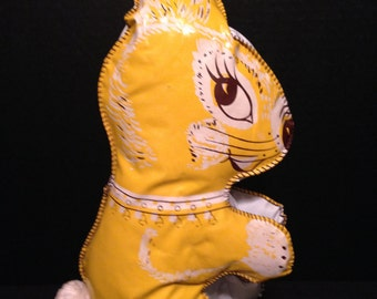 44b80cc918f6e This Vintage Vinyl Rabbit is ready to be Adopted to a Good Home.