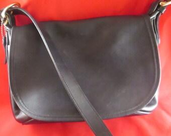 3a423110eb Vintage COACH Black Shoulder   Cross Body Handbag