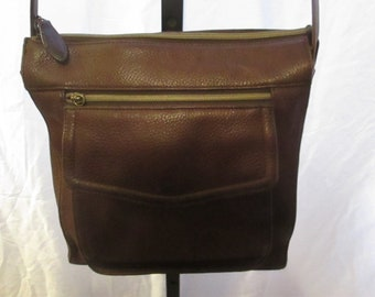 e2c9eedc2 Vintage Fossil - Brown - Shoulder - Crossbody - Adjustable Straps - Handbag.