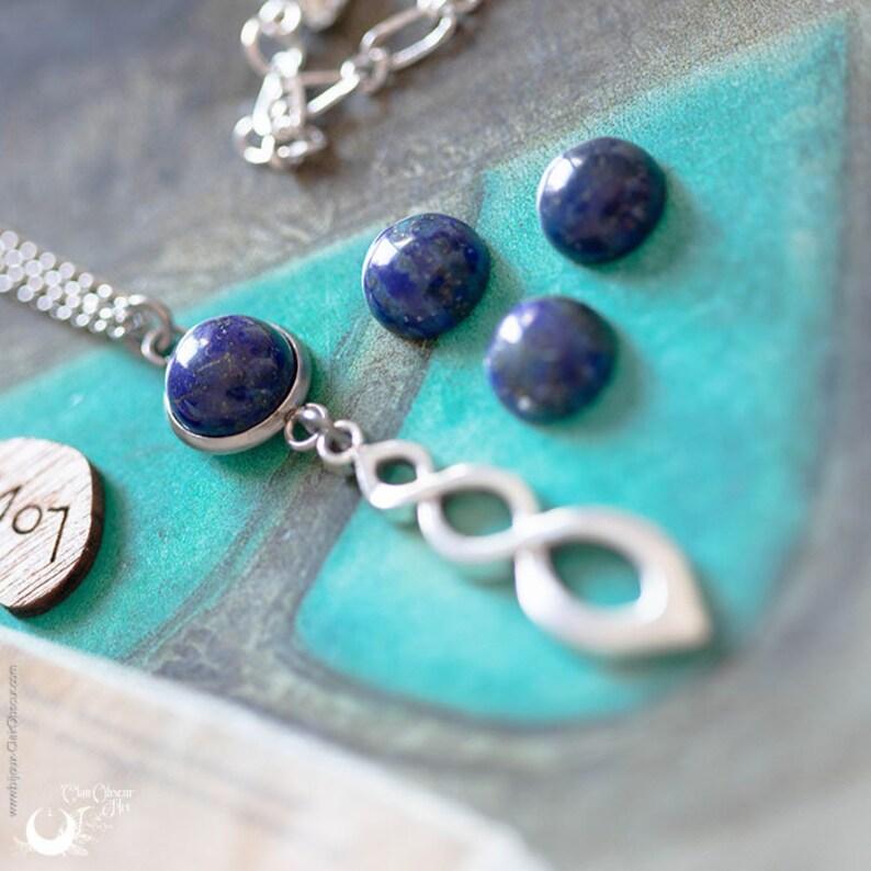 Collier Lapis Lazuli Ananta ajustable