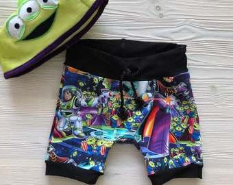 Buzz Lightyear Drawstring shorts for toddlers