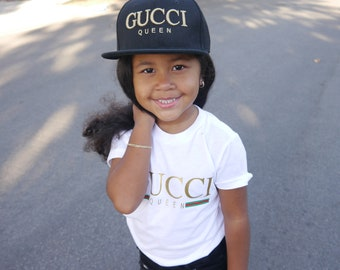 8fe52414af Gucci Queen Snapback Inspired- Toddler Youth Kids Adult Hat Cap
