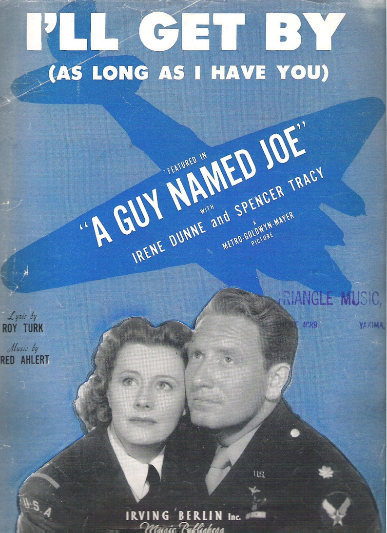 I'll Get By As Long As I Have You Sheet Music Vintage image 0