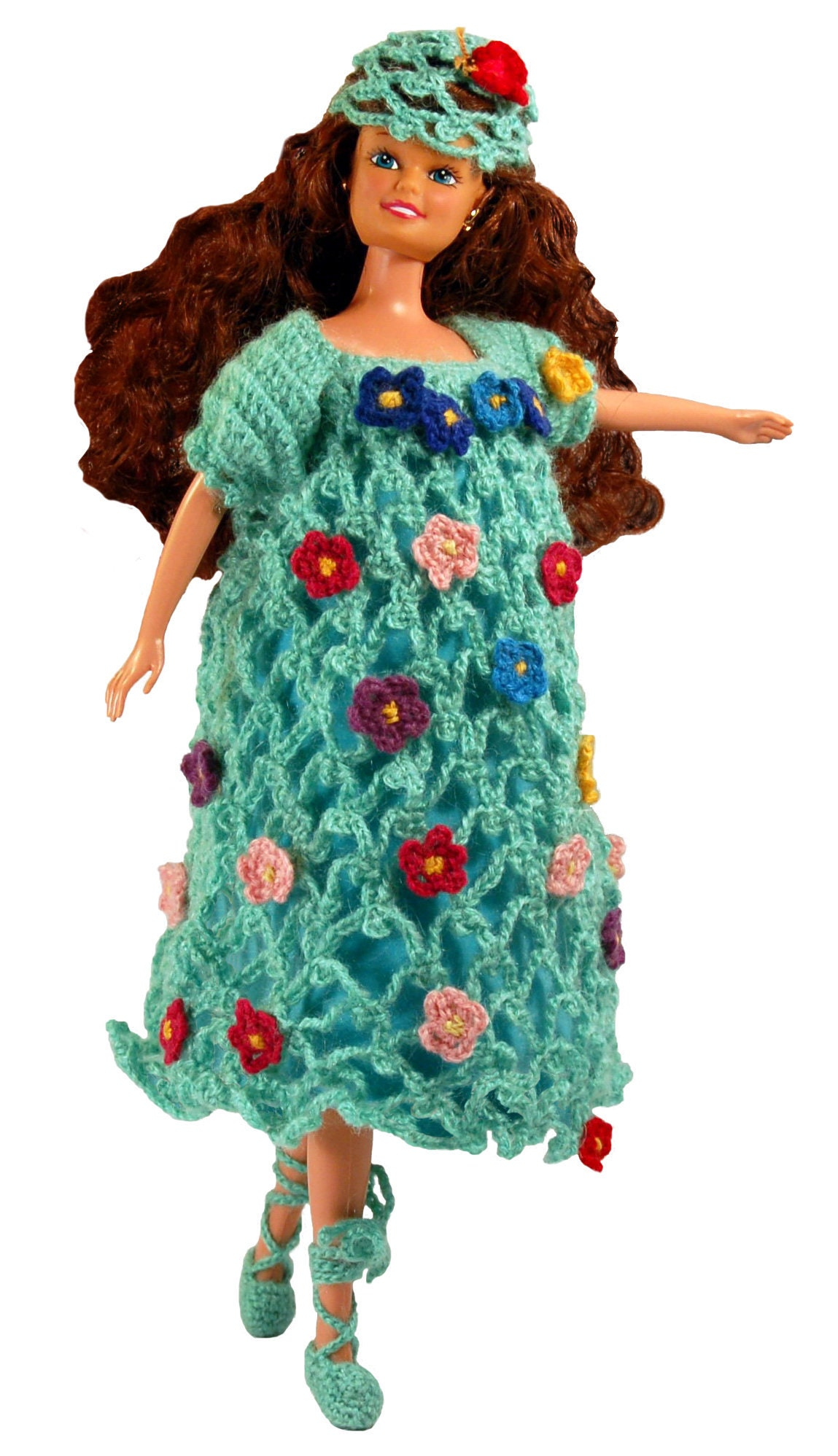 Barbie Patterns doll clothes, Crochet doll dress PDF Pattern, Barbie ...
