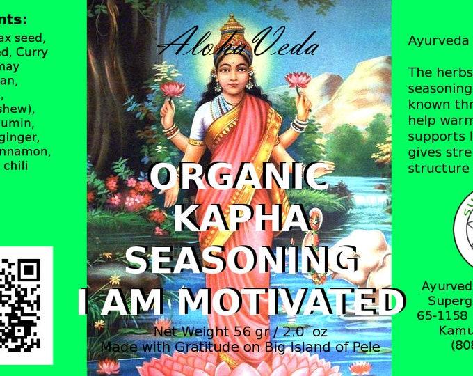 I am Motivated - Kapha Spice Seasoning - Organic - Ayurveda Superfood - Made on Maui