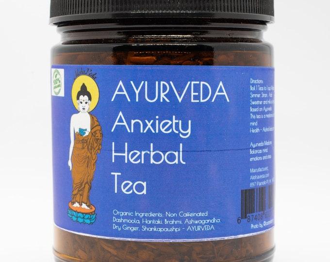 Ayurveda Tea - Anxiety  -  Organic - Ayurveda Superfood - Ayurveda  - Maui - Herbal Tea