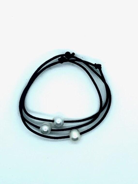 Hair Ties - Pearl - Spiritual Jewelry - Ayurveda Superfood - AlohaVeda - Ayurveda - Maui - Hand Made - Hawaii