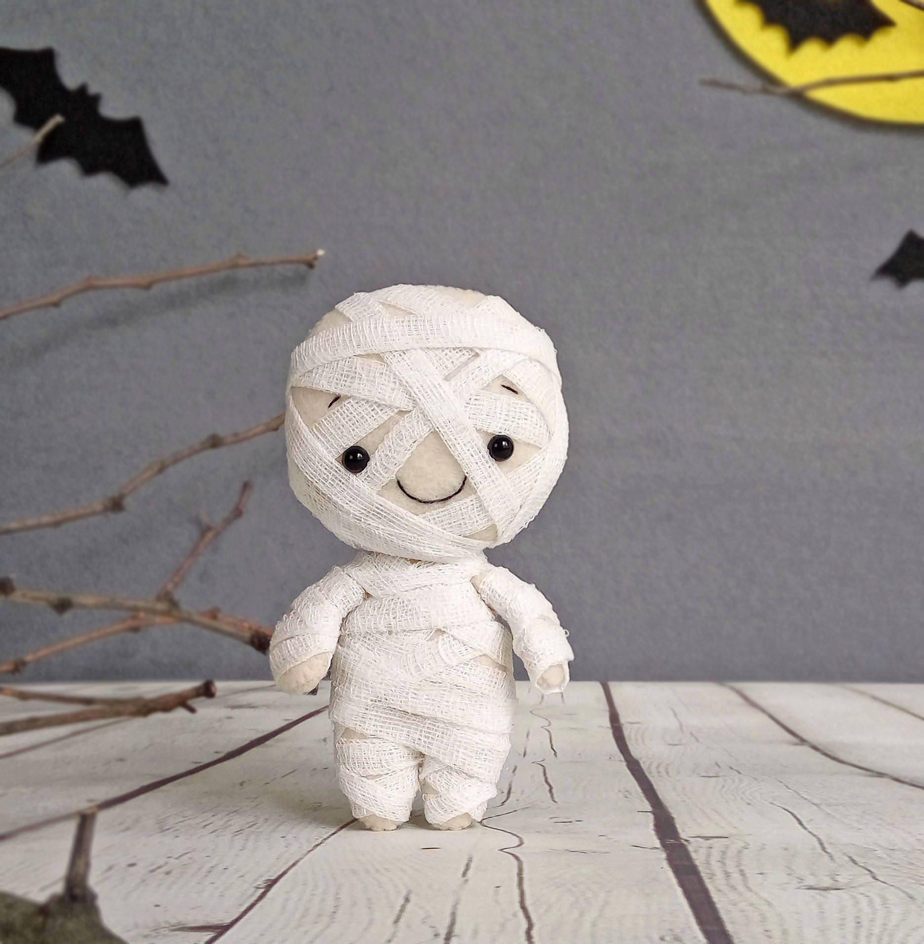 Halloween Dekor Mumie gruselige süße Halloween Geschenk | Etsy