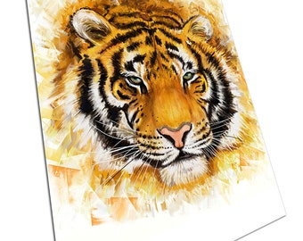A1 A2 A3 A4 A5 Esso Garage Tiger Vintage Art Print Poster