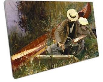 John Singer Sargent An Out-of-Doors Study Ready to Hang Canvas IE233