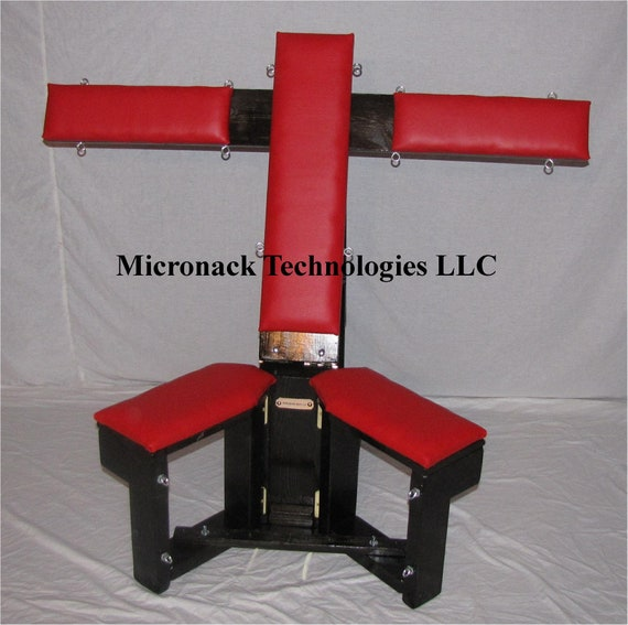 Deluxe Fully Adjustable Bondage Chair Furniture Dungeon Furniture