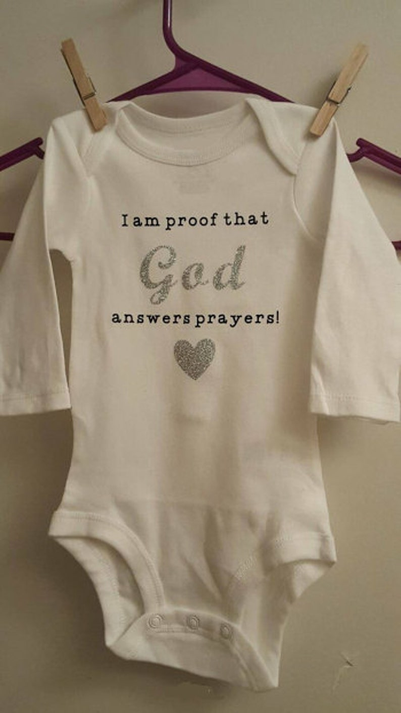 I am proof that God answers prayers outfit