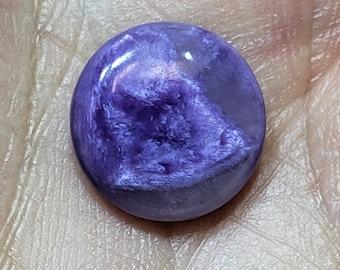 41.95 Ct Natural Russian Charoite Cabochon..Charoite Cabochon..Purple Charoite..For Jewelry..Pear Shape 60X16X5 mm Loose Gemstone B-286