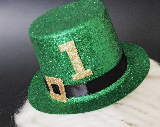 SALE,St. Patrick's Day Hat,Leprechaun Hat for baby,Leprechaun Costume,St. Patrick's Day Costume Hat,St. Patrick's Day Birthday Hat,Green Hat