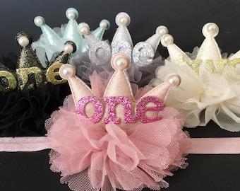 Crown Headband,Birthday Crown,Birthday Baby,baby shower gift,first birthday headband,first birthday,birthday girl,second birthday,baby crown