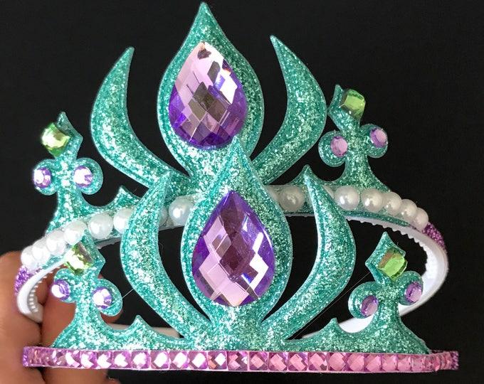 Ariel Crown,The Little Mermaid crown,Mermaid Crown,Mermaid Headband,disney Ariel,disney princess crown,mermaid theme,Ariel theme,Ariel tiara
