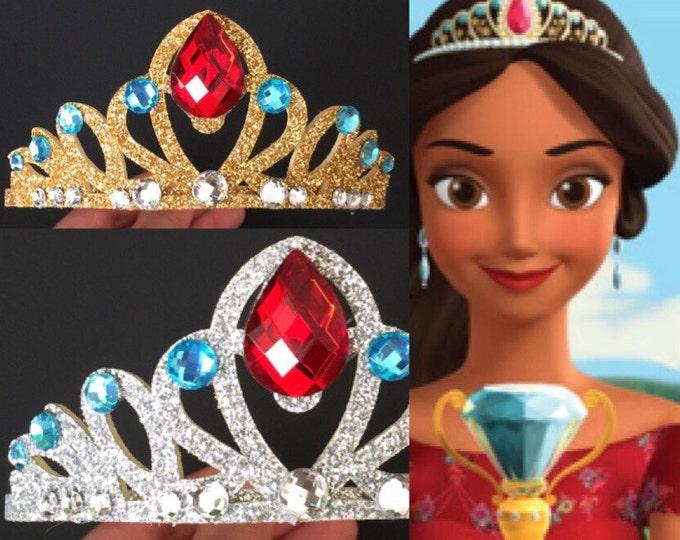 Elena Crown,Princess Elena Crown,Disney princess Crown,Disney Elena,Princess Crown,Elena of Avalor,birthday crown,Elena Accessory