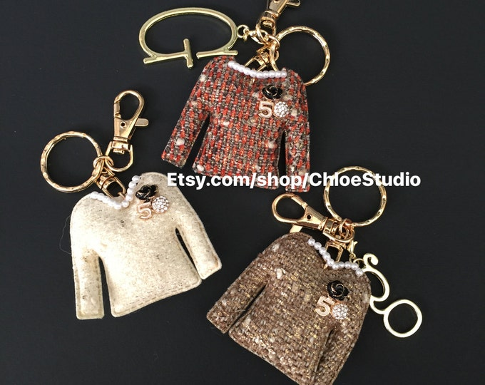 Custom Keychain,Custom KeyRing,Puffy keyring,Jacket Pendant,Designer Jacket Charm,Designer Jewelry,Tailor Jewelry,Puffy keychain,customize