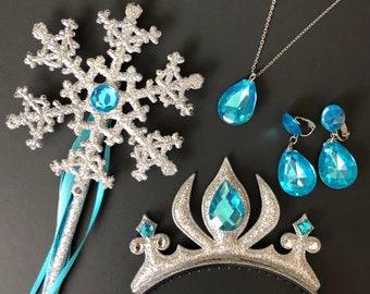 Elsa Crown Headband,Elsa Wand,Snowflake Wand,Elsa Scepter,Elsa Costume,Elsa Dress,Anna Crown,disney princess crown,Birthday crown,baby crown