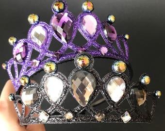 Devil Crown,Witch Crown,Black Crown,Maleficent Crown,Evil Queen Crown,Snow White step mom,Witch Costume,Devil Costume,Demon Festival crown
