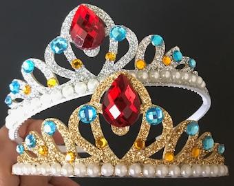 Elena Crown,Princess Elena Crown,Elena Headband,Elena Elastic Headband,Disney Elena crown,Elena of Avalor,Disney Elena Accessory,Elena theme