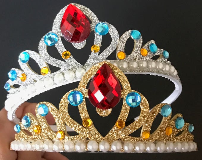 Elena Crown,Princess Elena Crown,Elena Headband,Elena Elastic Headband,Disney Elena crown,Elena of Avalor,Disney Elena Accessory,Elena theme