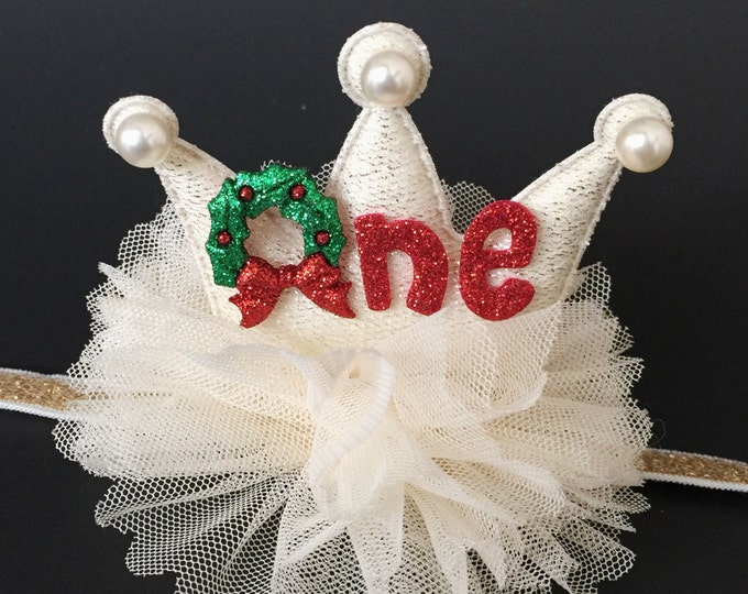 SALE!,Christmas  crown,Christmas Glitter Crown,Crown Headband,Photo Prop,Christmas photo shoot,Christmas photo prop,Christmas headband,X-mas