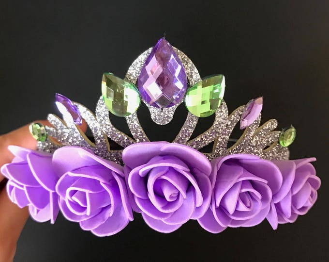 Ariel Crown,Ariel Headband,The Little Mermaid,Mermaid Crown,Mermaid Headband,Princess Ariel,disney princess crown,Ariel costume,Purple Crown