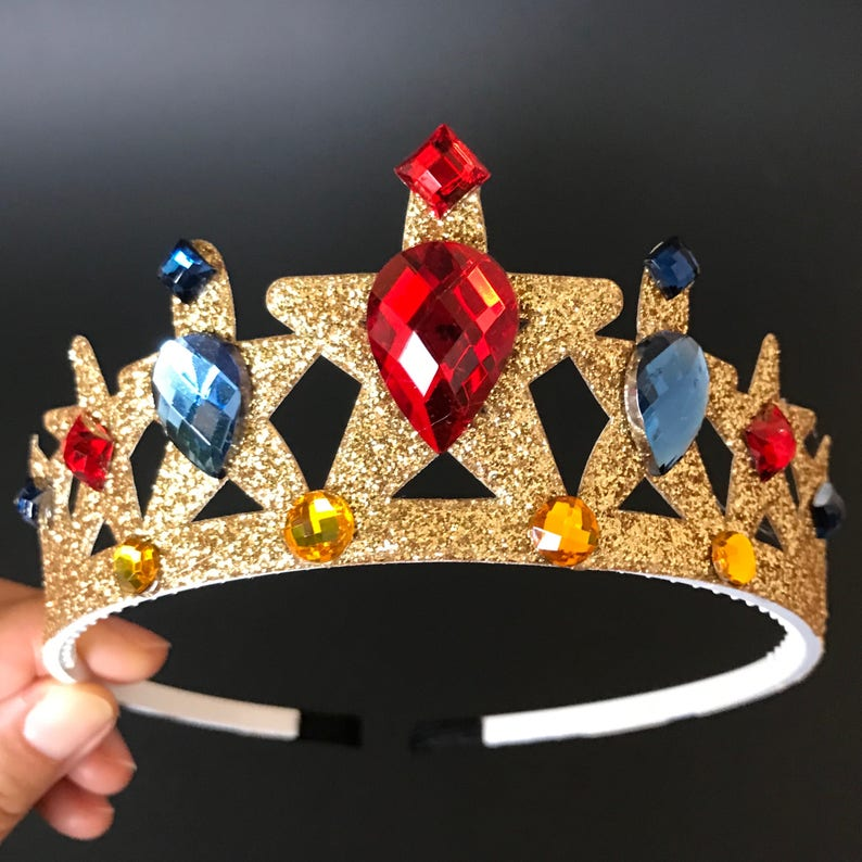 Super Girl CrownWonder Woman HeadbandWonder Woman image 0