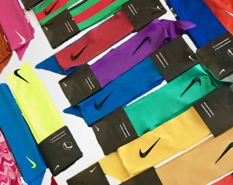 READ DESCRIPTION  Create Your Own Custom Nike Dri-Fit Head Tie Headband 2.0  - White Black Blue Red Yellow Green Purple Pink Grey Orange Dark d7de53a92ab