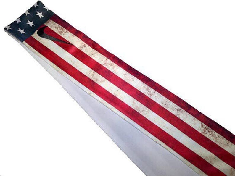 Old Glory Custom Nike Dri-Fit Head Tie Headband American Flag  21ab84feb04