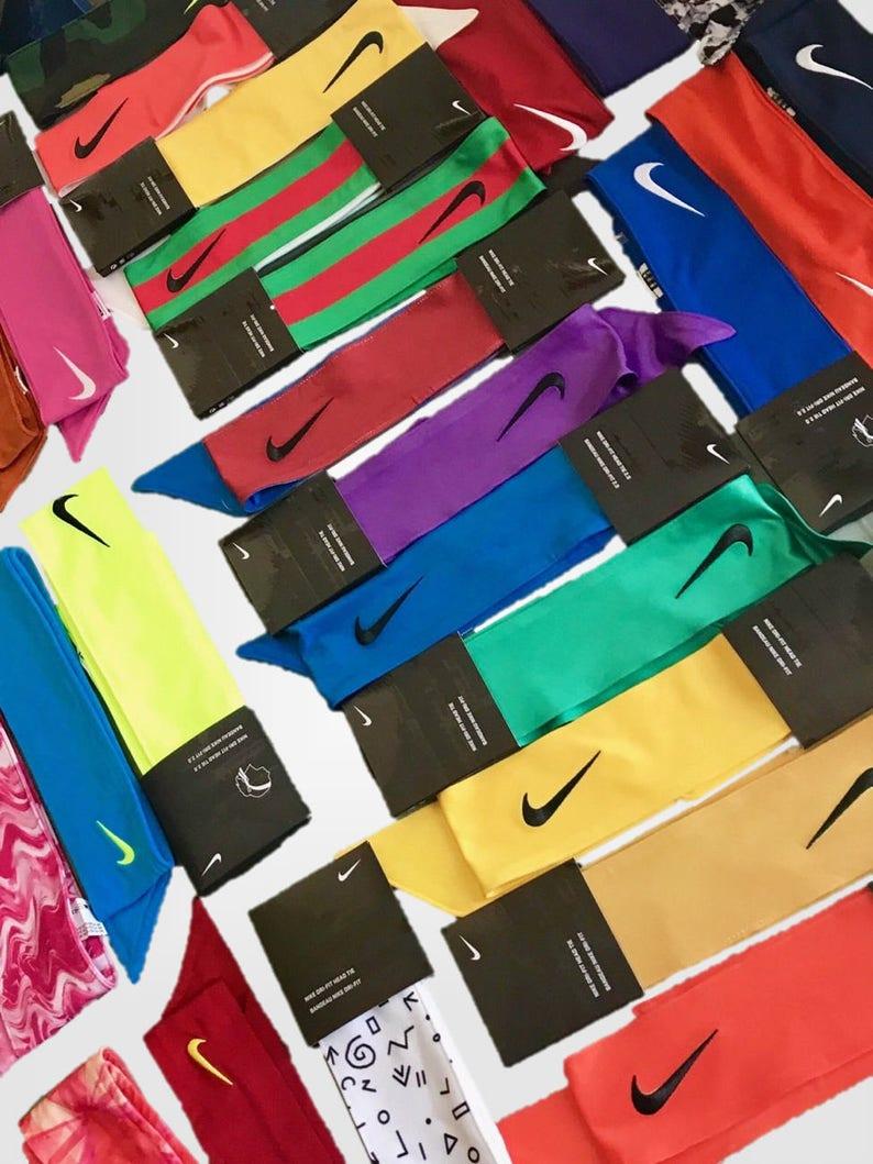 READ DESCRIPTION  Create Your Own Custom Nike Dri-Fit Head Tie  16eeb10b9e8