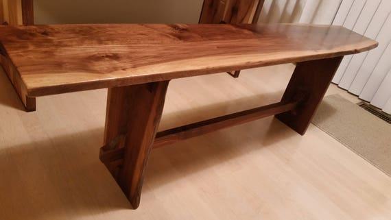 Brilliant Solid Walnut Wood Bench Ibusinesslaw Wood Chair Design Ideas Ibusinesslaworg