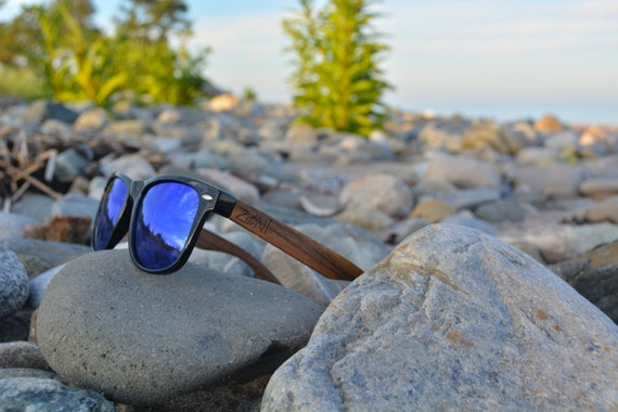 a0cf95f0700 Zoni Wear Wooden Sunglasses. Personalized Sunglasses. Ebony