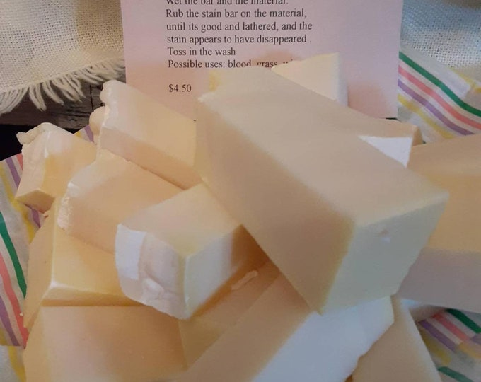Blueberry Clove scented stain bar. 2 Oz. Stick