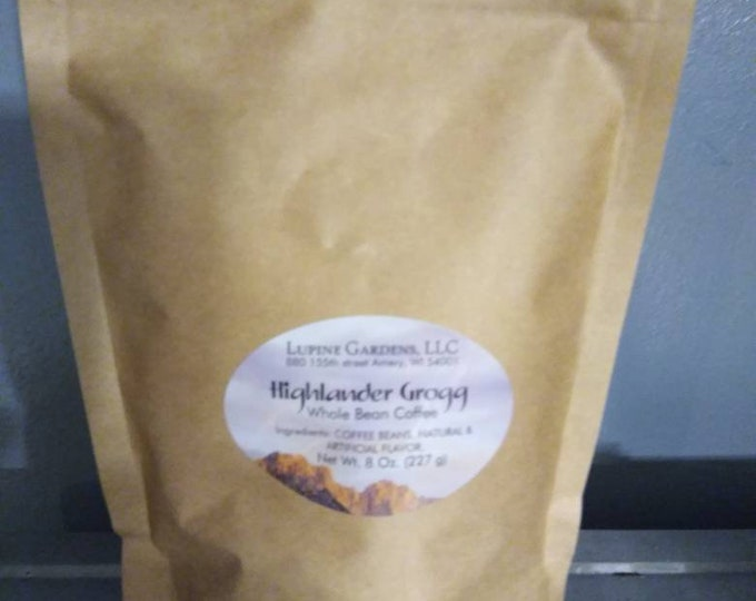 5# Highlander Grogg gourmet coffee.  Ground or Whole Bean.