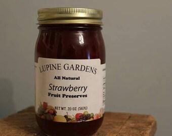 Strawberry Preserves. 20 oz.