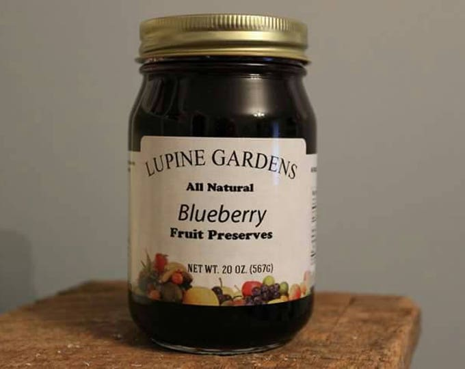 Blueberry Preserves. 20 oz.