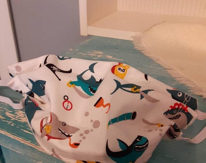 Shark mask for kids.