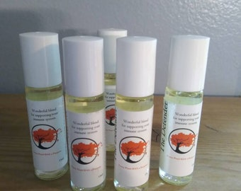 The Defender / essential oil blend immune system boost. 13 ml roll-on. Ready to use.