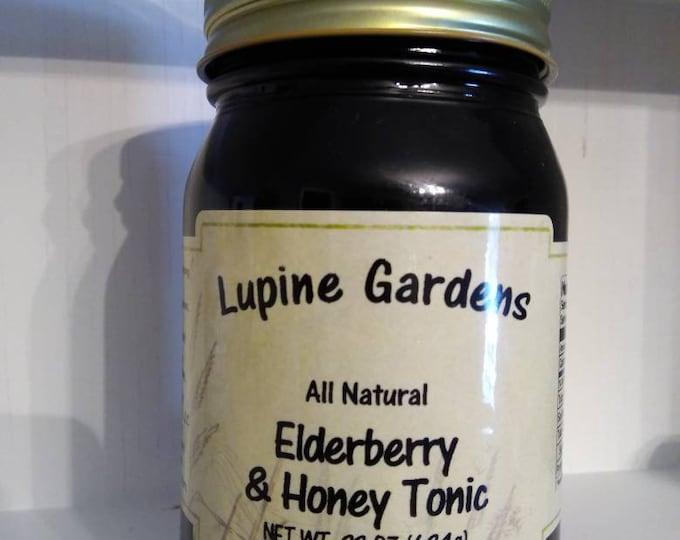 Elderberry & Honey Tonic. 22 Oz.
