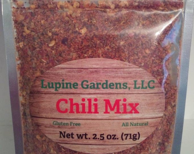 Chili Mix. 2.5 oz.