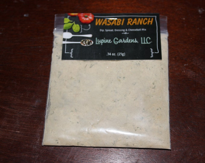 Wasabi Ranch Dip Mix.