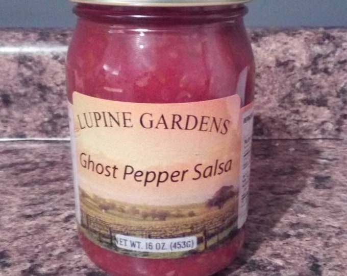 Ghost Pepper Salsa. 16 oz.