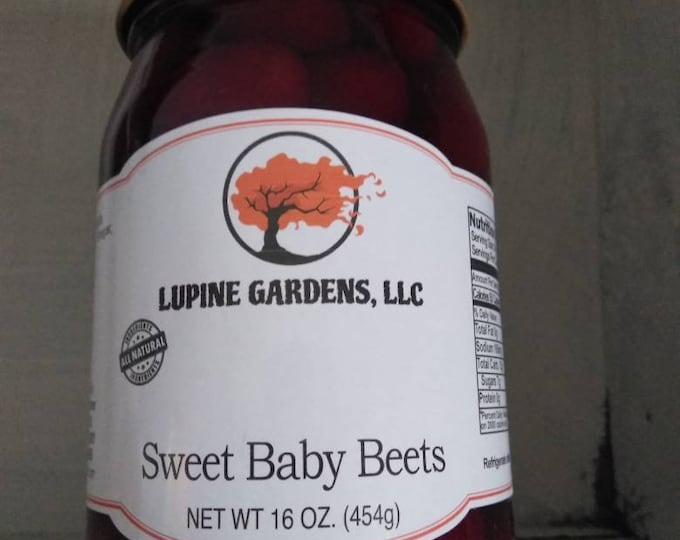Pickled Baby Beets. 16 oz.