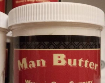 Man Butter 6 Oz. / Moisturizer for Men