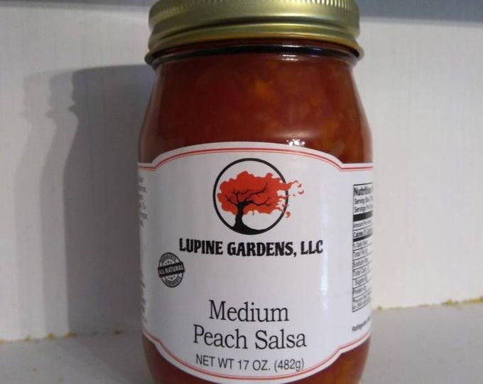 Gourmet Peach Salsa 17 oz.