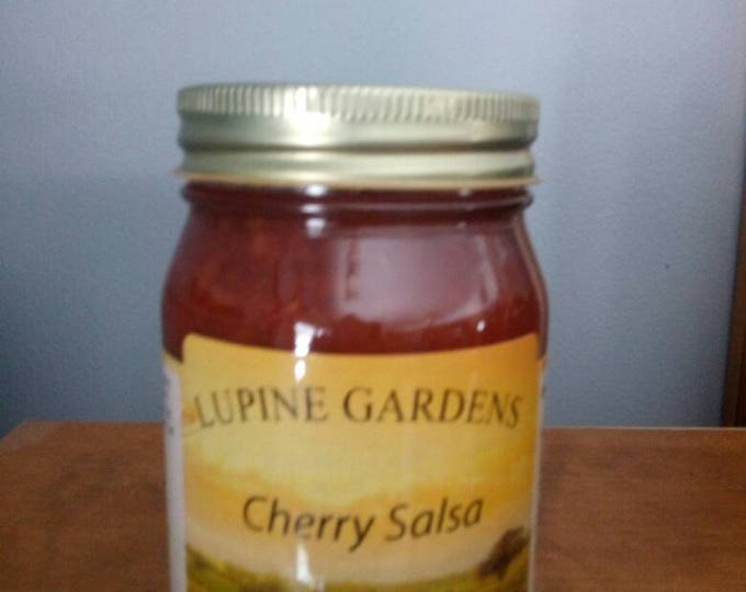 Cherry Salsa. 17 oz.