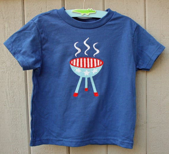 4th of July BBQ Barbeque Tee, Fourth of July, July 4, Independence Day, Grill, Shirt