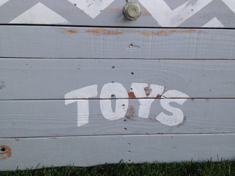 Custom Toy Box-Chevron Toy Box-Chevron Theme-Large Custom Toy Box-Childrens Toy Box-Hope Chest